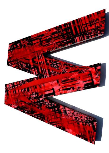 , 'Wall object #1 (red),' 2017, Galerie Olivier Waltman | Waltman Ortega Fine Art