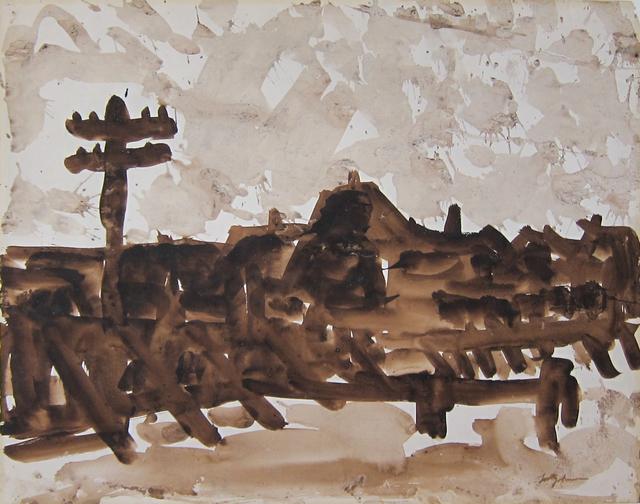 , 'Provincetown Rooftops,' ca. 1957, Albert Merola Gallery