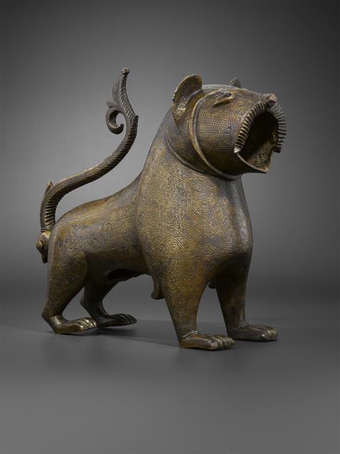 'Lion à queue articulée (Lion with an articulated tail)', 17th-18th century, Musée du Louvre