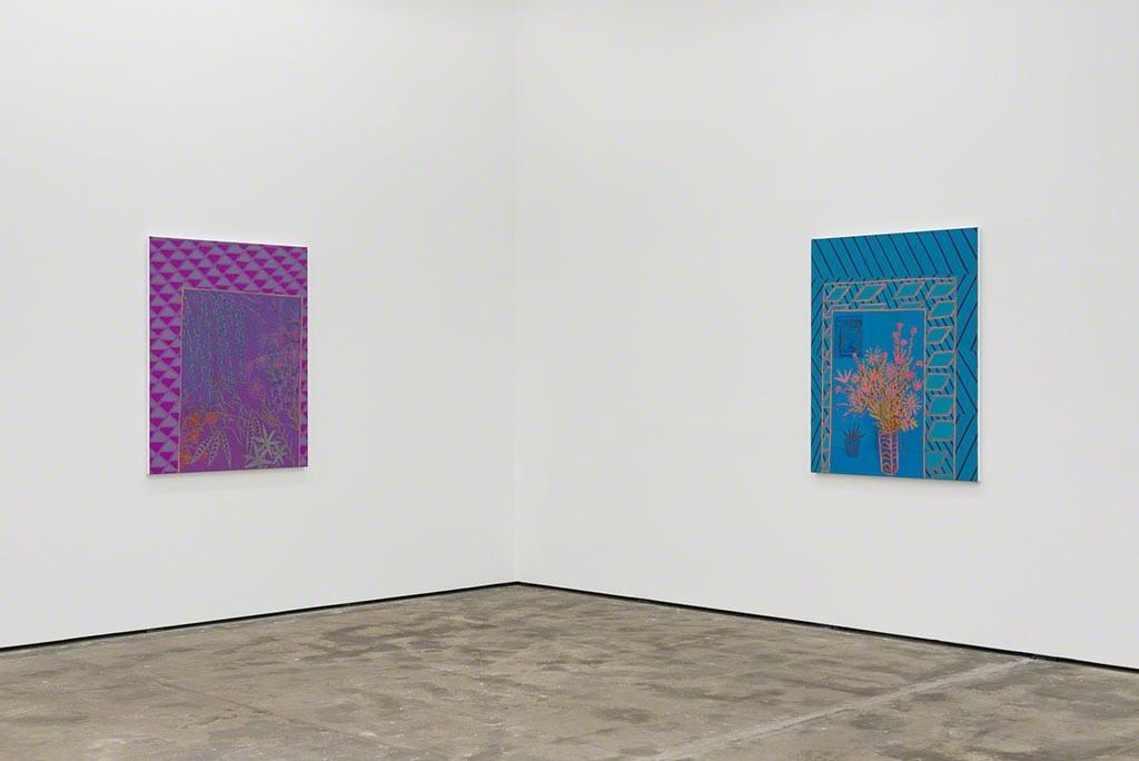 John McAllister - CHORUS CLAMORS SULTRY, Installation view, Wentrup, Berlin, 2016