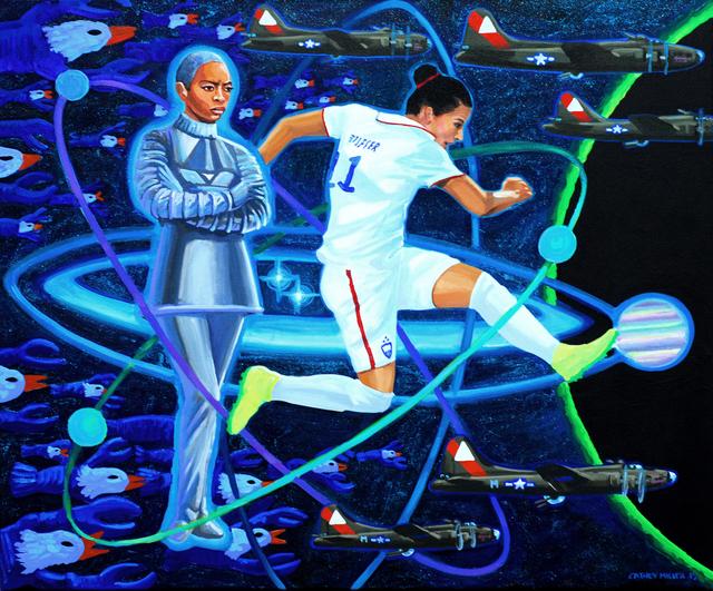 , 'Quantum B-17's,' 2015, Ro2 Art