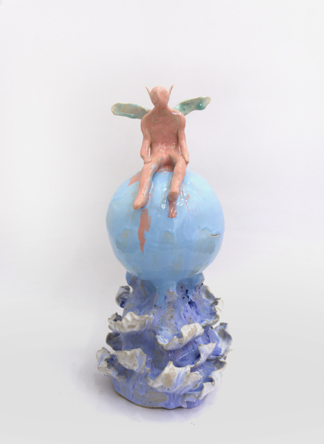 , 'Fairy on A Soap Bubble in The Ocean,' 2019, V1 Gallery