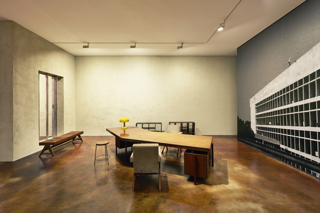 ​Installation view of Le Corbusier, Pierre Jeanneret: Chandigarh, India, 1951-66 at Kukje Gallery K2, First Floor