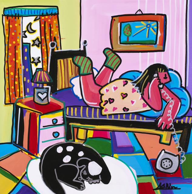 , 'Girl Talk ,' 2013, Blue Gallery