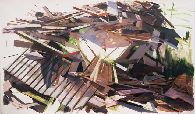 , 'Remnants of a House on Eastern Avenue,' 2006, G. Gibson Gallery