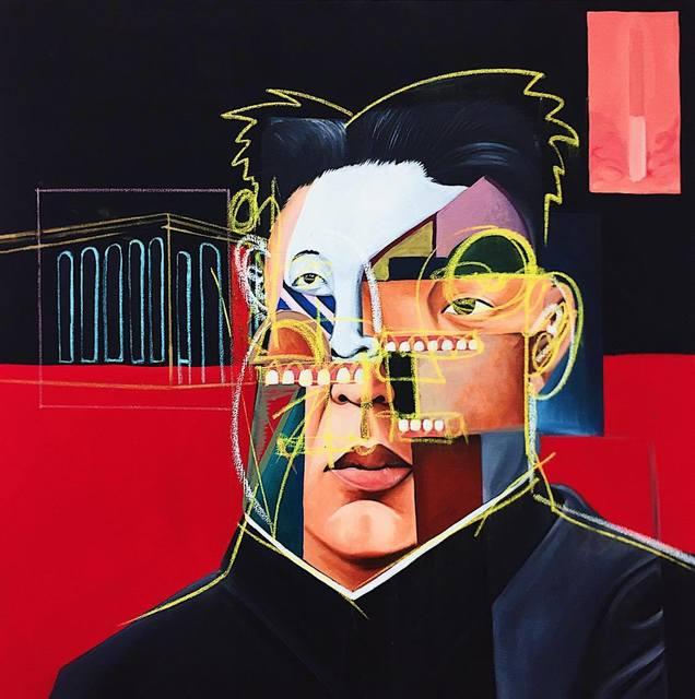 , 'Kim Jong ,' 2017, ABXY