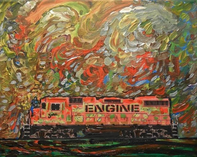 Steve Coffey, 'Fallen Start Cars - John', 2018, The Front Gallery