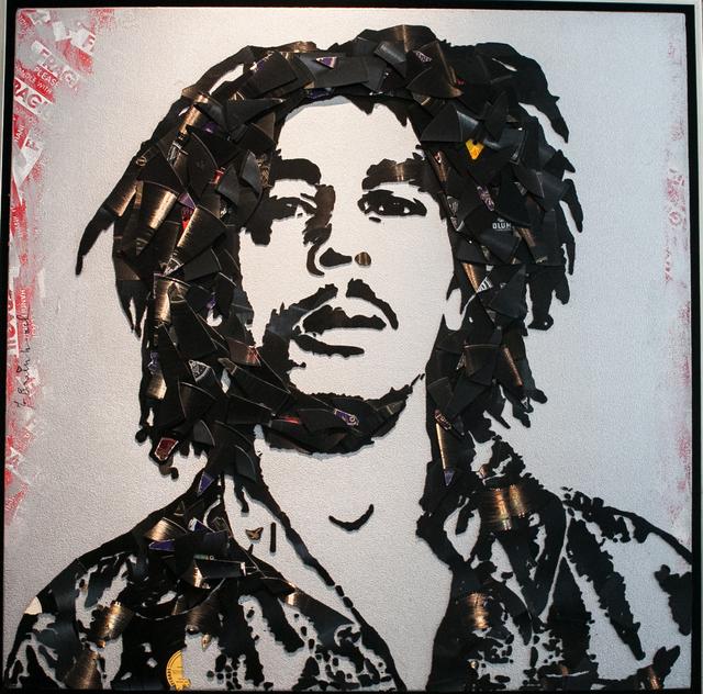 , 'Bob Marley,' 2012, Fischtein Fine Art