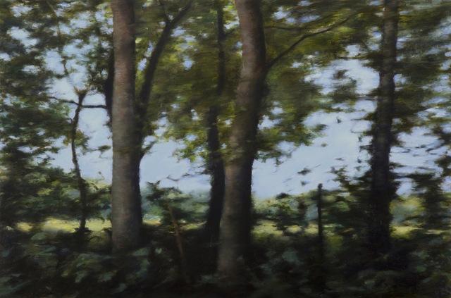 , 'Three Tress,' 2014, Abend Gallery