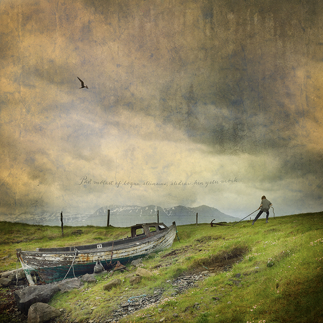 Tom Chambers, 'Pulling Anchor', 2015, Photography, Photomontage, Chase Young Gallery