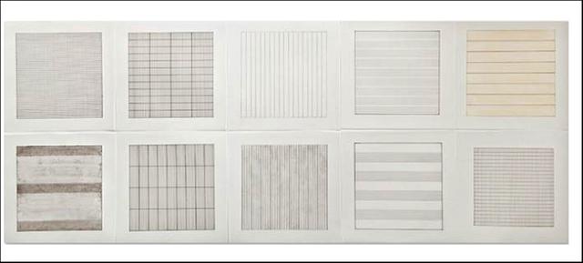 , 'Suite of 10 (Ten) Original Lithographs on Vellum Parchment (Stedelijk Museum, Amsterdam, the Netherlands),' 1990-1991, Alpha 137 Gallery