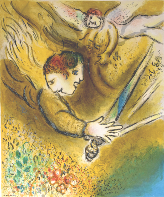 Marc Chagall, 'The Angel of Judgement | L'Ange du jugement ', 1974, Gilden's Art Gallery