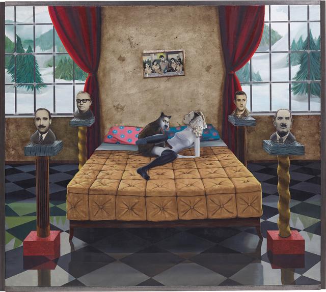 Gino Rubert, 'Action on Golden Bed', 1997, Phillips