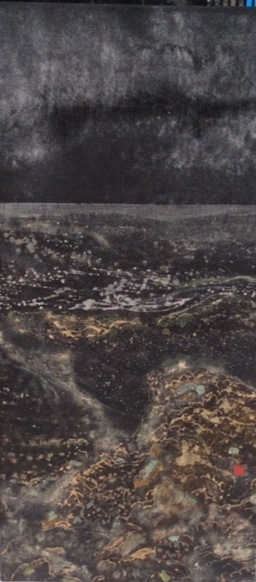 , 'Coastal Storm II,' 2015, Art Atrium