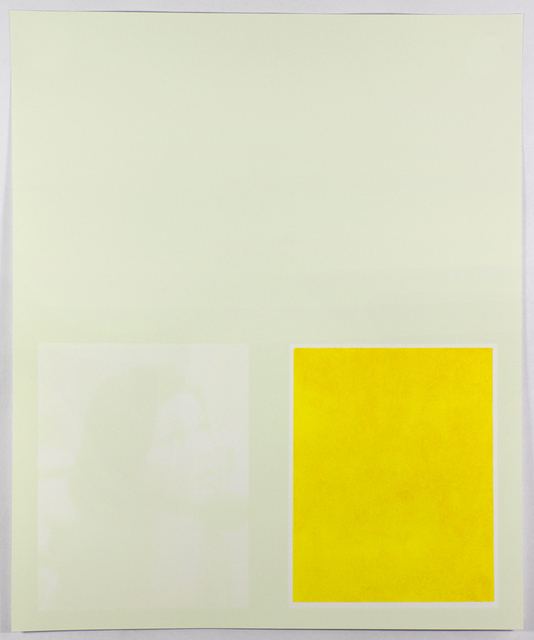 , 'Yellow Mary,' 2015, Tamarind Institute