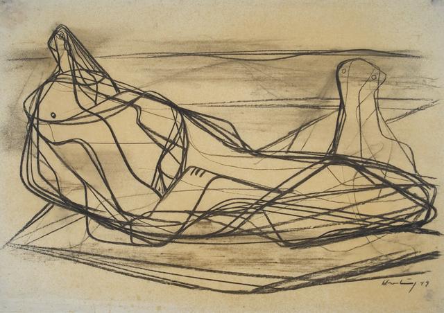 , 'Zwei Frauen am Meer,' 1949, Henze & Ketterer