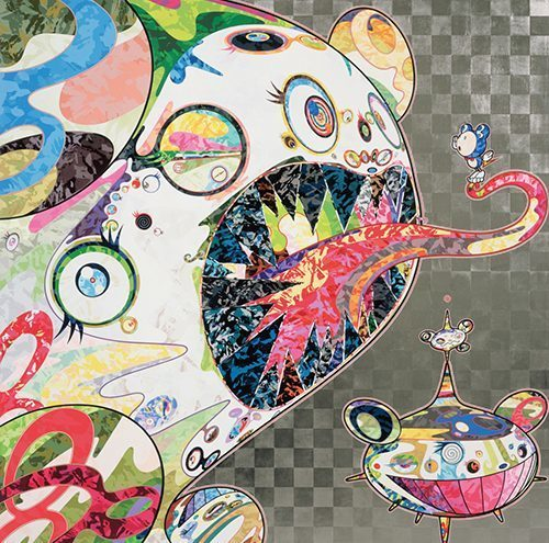 Takashi Murakami, 'Homage to Francis Bacon (Study of George Dyer)', 2017, Vogtle Contemporary