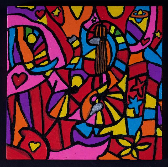 Leland Lee, 'Elephant in Music Jungle', 2009, Artrue Gallery