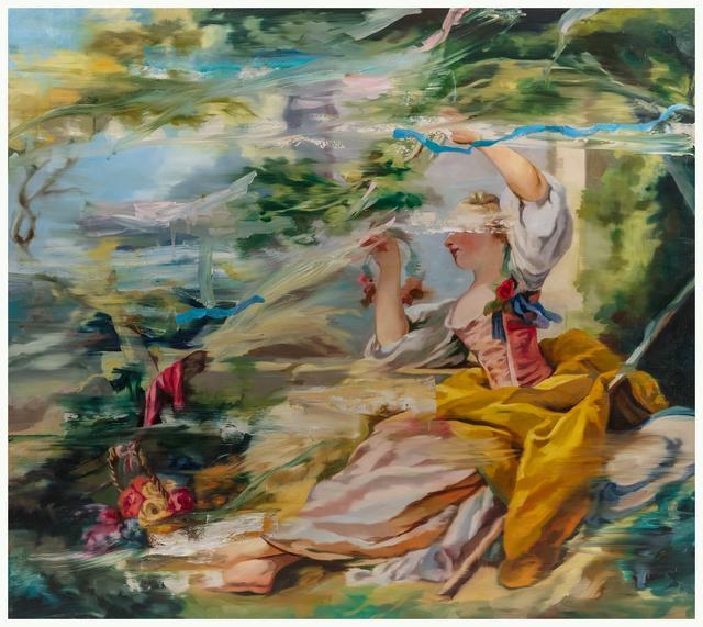 , 'Fretchety I,' 2018, Galerie de Bellefeuille