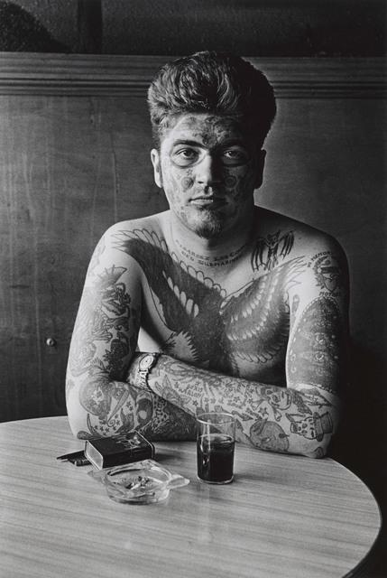 , 'Jack Dracula at a bar, New London, Conn.,' 1961, San Francisco Museum of Modern Art (SFMOMA)