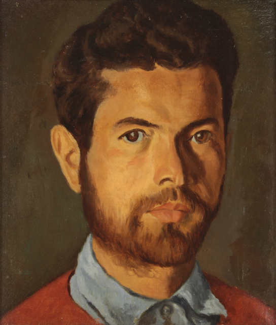 , 'Self Portrait,' 1920, Addison Rowe Gallery