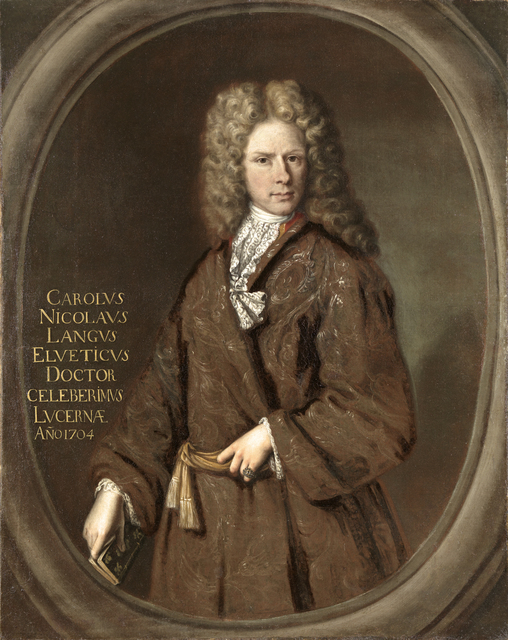 , 'Portrait of Karl Nicolaus Lange,' 1704, Brun Fine Art