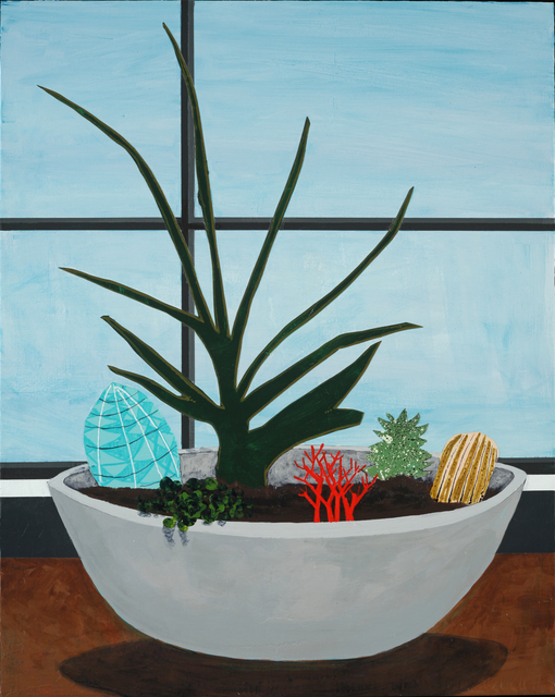, 'Latin Roots,' 2018, Eleanor Harwood Gallery