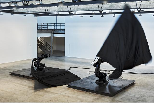 , 'Black Flags,' 2014, Gagosian
