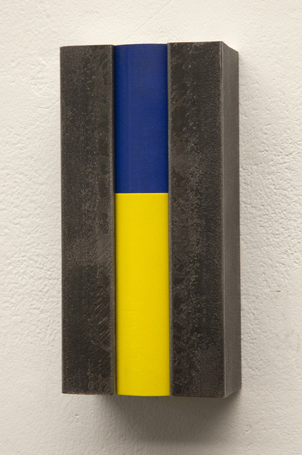 , 'People of Colour (Blue/Yellow),' 2012, Flowers