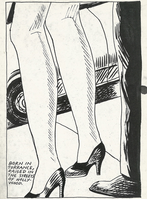 , 'No title (Born in Terrance...),' 1985, Blondeau & Cie