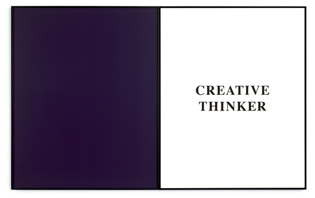 , 'Prima Facie (Fifth State): Creative Thinker,' 2007, The FLAG Art Foundation