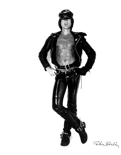 , 'Self Portrait in Black Leather I,' ca. 1970, ClampArt