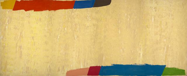 Jack Bush, 'Hi-Lo', 1974, Painting, Acrylic on Canvas, Miriam Shiell Fine Art