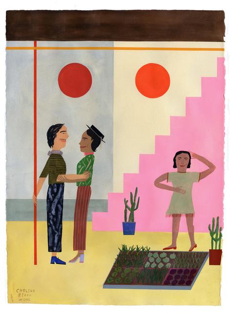 , 'Love Grows in a Mysterious Japanese Mexican Modern Garden,' 2019, ZINC contemporary
