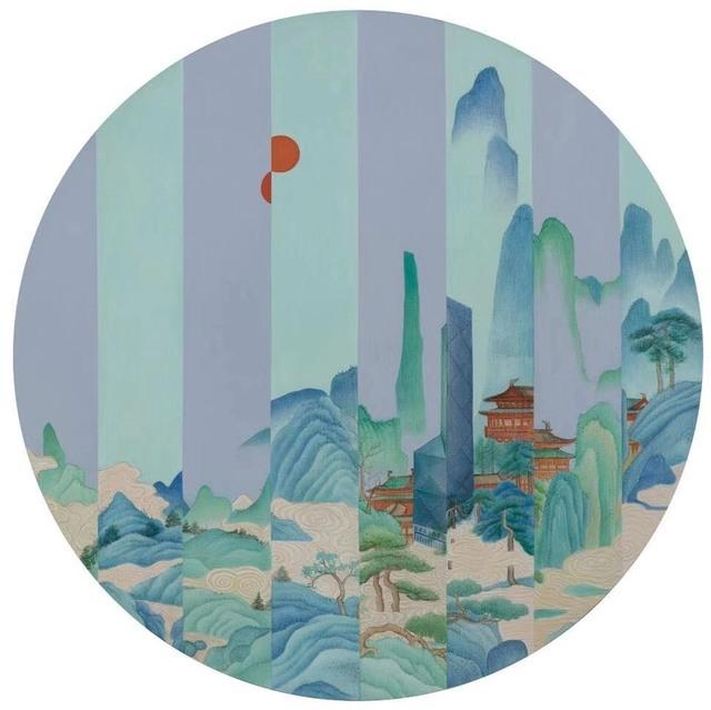 , 'Pavillion in the sky,' 2019, Arthill Gallery