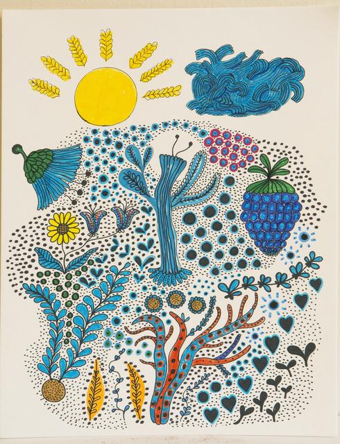 , 'Blueberry Cactus,' 2017, Deli Gallery