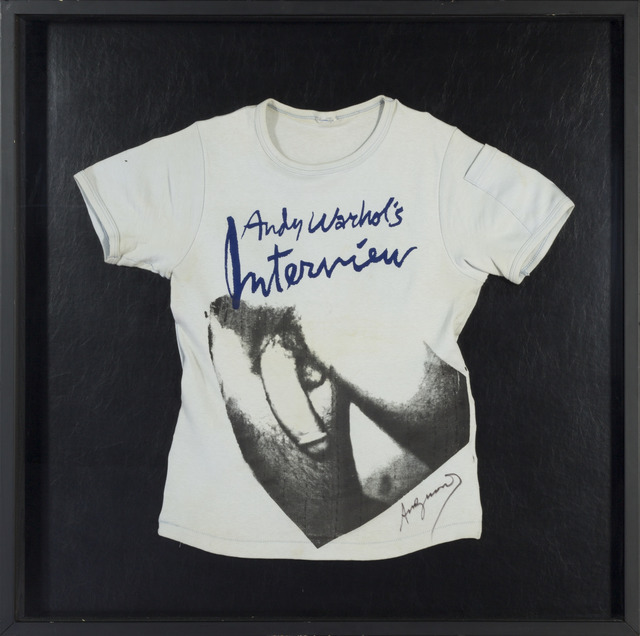 , 'Self Portrait on Interview T-Shirt ,' 1977-1978, RUDOLF BUDJA GALLERY