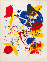 Sam Francis, Untitled #6 (from Pasadena Box)