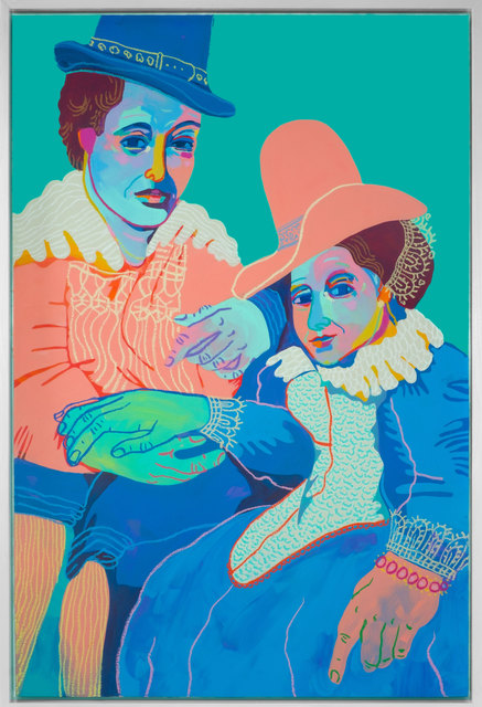 John Holcomb, 'Pete and Izzy (after Rubens)', 2017, Rebecca Hossack Art Gallery