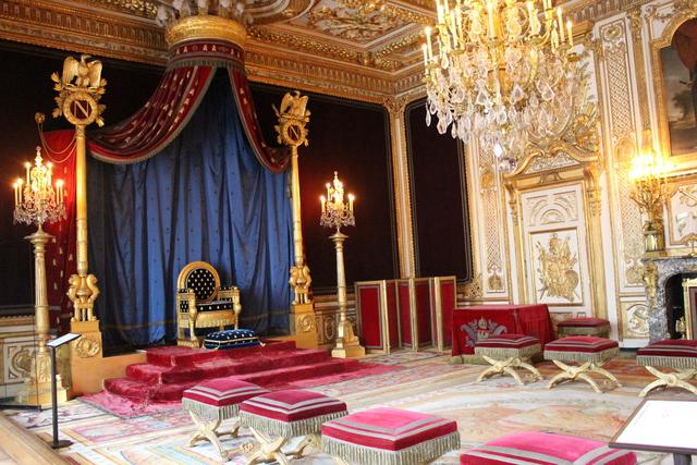 'Trône de Napoléon (Napoleon's Throne)', c. 1805, Château de Fontainebleau