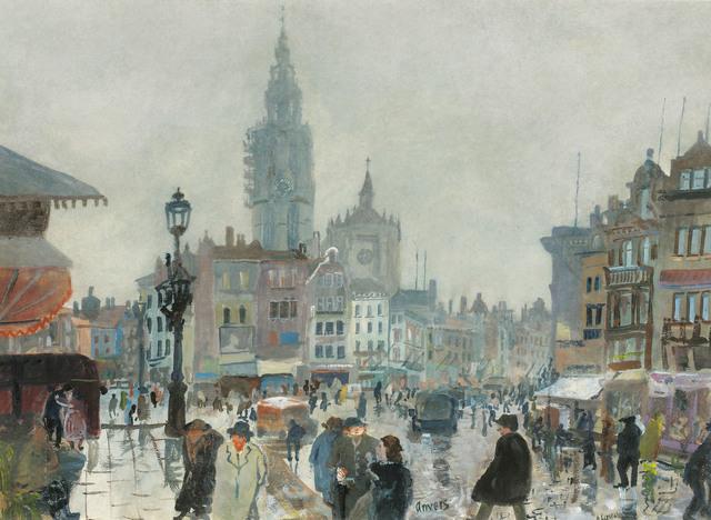 , 'Antwerpen,' ca. 1930, Galerie Kovacek