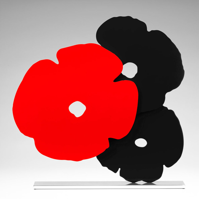 Donald Sultan, 'Red and Black Poppies', 2018, Jonathan Novak Contemporary Art