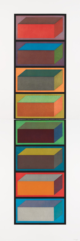 , 'Eight Cubic Rectangles,' 1994, Pace Prints