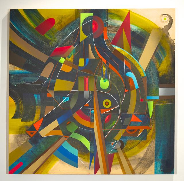 , 'The Sonic Metatron,' 2014, Jonathan LeVine Projects