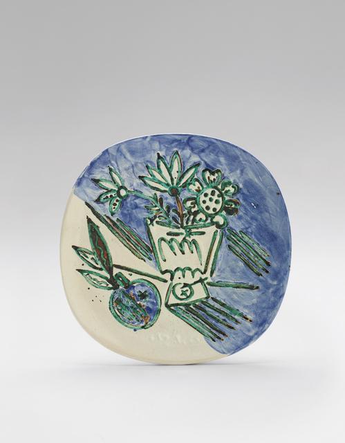 Pablo Picasso, 'Bouquet à la pomme (Bouquet with Apple)', 1956, Phillips