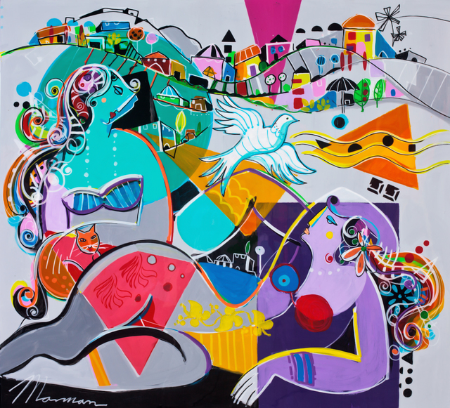 , 'Return To Innocence,' 2014, Blue Gallery