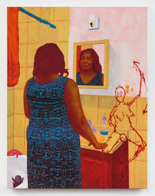 , 'How Much of My Mother Has My Mother Left in Me,' 2018, Rachel Uffner Gallery