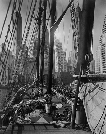, 'Theoline, Pier 11, East River, NY,' 1936, Staley-Wise Gallery