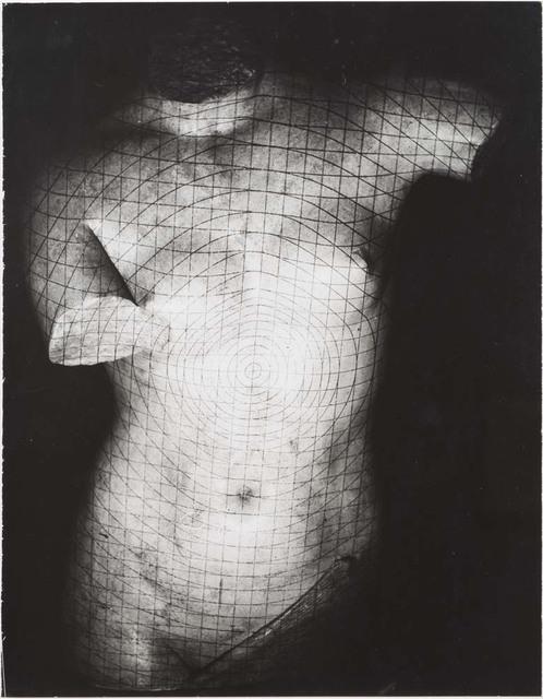 Erwin Blumenfeld, 'Grid on plaster, Paris', 1937, Osborne Samuel