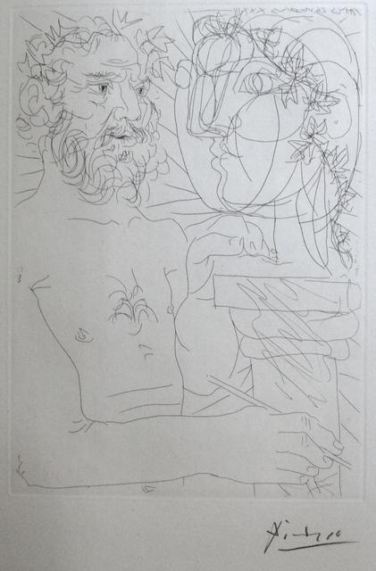 Pablo Picasso, 'Vieux Sculpteur au Travail II', 1933, Long-Sharp Gallery